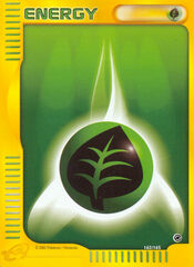 Grass Energy - 162/165 - Common - Reverse Holo