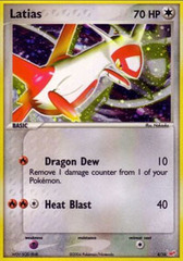 Latias - 4/10 - Common - Reverse Holo on Channel Fireball