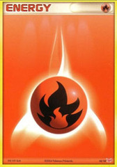 Fire Energy - 10/10 - Common - Reverse Holo