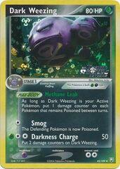 Dark Weezing - 42/109 - Uncommon - Reverse Holo