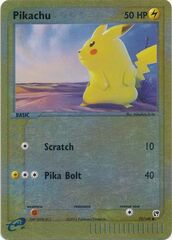 Pikachu - 72/100 - Common - Reverse Holo