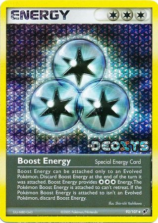 Boost Energy - 93/107 - Uncommon - Reverse Holo