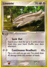 Linoone - 3/10 - Common - Reverse Holo