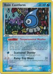 Rain Castform - 23/101 - Rare - Reverse Holo