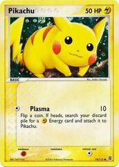 Pikachu - 74/112 - Common - Reverse Holo