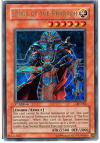 Spirit of the Pharaoh - AST-062 - Ultra Rare - Unlimited Edition