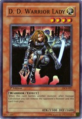 D.D. Warrior Lady - DCR-027 - Super Rare - Unlimited Edition on Channel Fireball