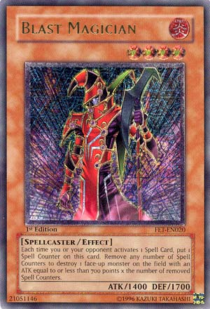Blast Magician - FET-EN020 - Ultimate Rare - Unlimited Edition