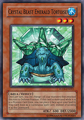 Crystal Beast Emerald Tortoise - FOTB-EN003 - Common - Unlimited Edition