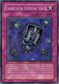 Eradicator Epidemic Virus - FOTB-EN068 - Secret Rare - Unlimited Edition