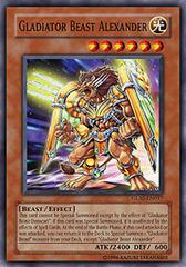 Gladiator Beast Alexander - GLAS-EN017 - Super Rare - Unlimited Edition
