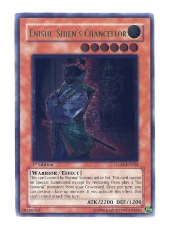 Enishi, Shiens Chancellor - GLAS-EN032 - Ultimate Rare - Unlimited Edition
