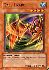 Gale Lizard - IOC-008 - Common - Unlimited Edition