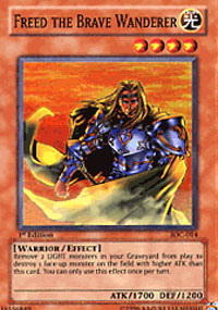 Freed the Brave Wanderer - IOC-014 - Super Rare - Unlimited Edition