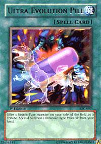 Ultra Evolution Pill - IOC-097 - Rare - Unlimited Edition