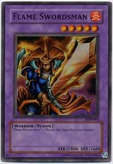 Flame Swordsman - LOB-003 - Super Rare - Unlimited Edition