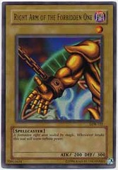 Right Arm of the Forbidden One - LOB-122 - Ultra Rare - Unlimited Edition