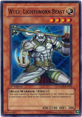 Wulf, Lightsworn Beast - LODT-EN023 - Super Rare - Unlimited Edition