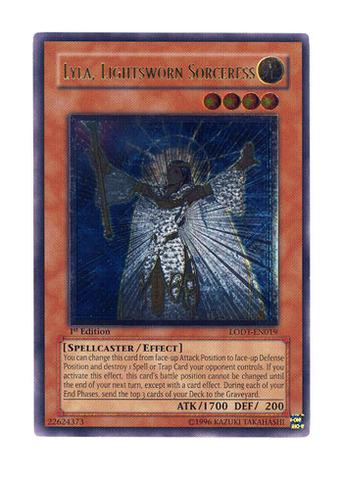 LODT-EN069-1st ED. ARCANA CALL 3 X YU-GI-OH CARD
