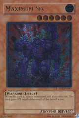 Maximum Six - LODT-EN097 - Ultimate Rare - Unlimited Edition