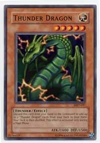 Thunder Dragon - MRD-097 - Common - Unlimited Edition