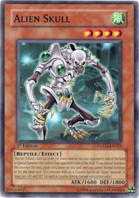Alien Skull - POTD-EN025 - Common - Unlimited Edition
