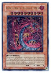 Uria, Lord of Searing Flames - Ultimate - SOI-EN001 - Ultimate Rare - Unlimited