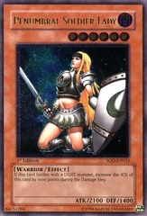Penumbral Soldier Lady - SOD-EN033 - Ultimate Rare - Unlimited Edition