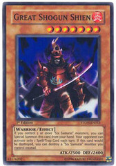 Great Shogun Shien - STON-EN013 - Super Rare - Unlimited Edition