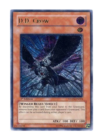 D.D. Crow - Ultimate - STON-EN024 - Ultimate Rare - Unlimited