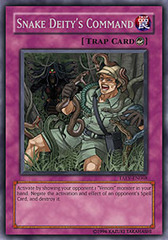 Snake Deity's Command - TAEV-EN068 - Rare - Unlimited Edition
