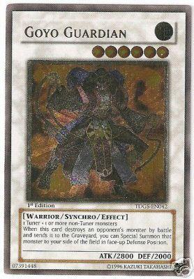 Goyo Guardian - TDGS-EN042 - Ultimate Rare - Unlimited Edition