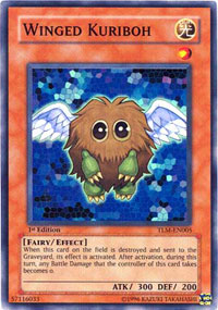 Winged Kuriboh - TLM-EN005 - Super Rare - Unlimited Edition