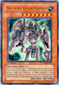 Ancient Gear Golem - TLM-EN006 - Ultra Rare - Unlimited Edition