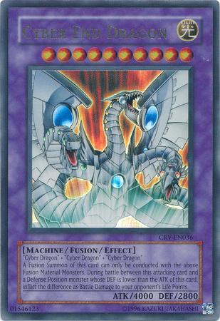 Cyber End Dragon - CRV-EN036 - Ultimate Rare - Unlimited Edition