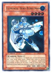 Elemental Hero Bubbleman - Ultimate - CRV-EN014 - Ultimate Rare - Unlimited