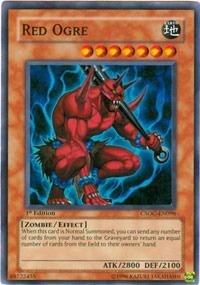 Red Ogre - CSOC-EN096 - Super Rare - Unlimited Edition
