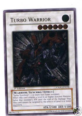 Turbo Warrior - CSOC-EN038 - Ultimate Rare - Unlimited Edition