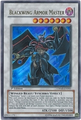 Blackwing Armor Master - CRMS-EN041 - Ultra Rare - Unlimited Edition
