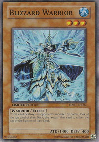 Blizzard Warrior - HA01-EN002 - Super Rare - Unlimited Edition