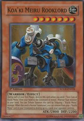 Koa'ki Meiru Rooklord - SOVR-EN028 - Super Rare - Unlimited Edition