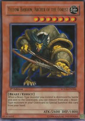 Yellow Baboon, Archer of the Forest - SOVR-EN084 - Ultra Rare - Unlimited Edition