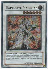Explosive Magician - SOVR-EN044 - Ultimate Rare - Unlimited Edition