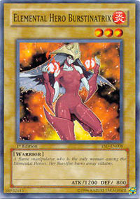 Elemental Hero Burstinatrix - YSD-EN008 - Common - Unlimited Edition