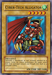 Cyber-Tech Alligator - YSDJ-EN001 - Common - Unlimited Edition on Channel Fireball