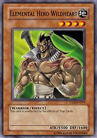 Elemental Hero Wildheart - YSDJ-EN019 - Common - Unlimited Edition