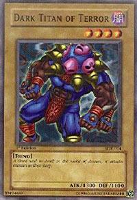 Dark Titan of Terror - SDK-014 - Common - Unlimited Edition