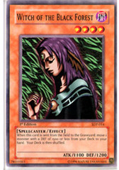 Witch of the Black Forest - SDP-014 - Common - Unlimited Edition