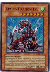 Armed Dragon LV7 - DP2-EN012 - Super Rare - Unlimited Edition on Channel Fireball