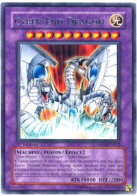 Cyber End Dragon - DP04-EN012 - Rare - Unlimited Edition